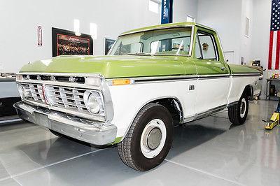 1973 Ford F100 Xlt Ranger 390 V8 Automatic Ac Frame