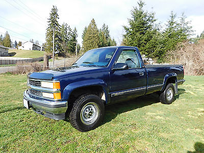 1995 Chevy Silverado 4×4 2500 3/4 Ton for sale