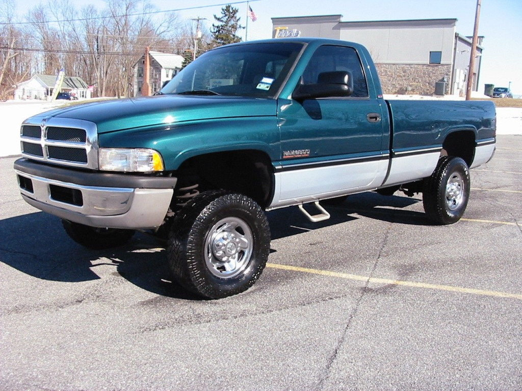 1997 Dodge Ram 2500 Reg Cab Cummins For Sale