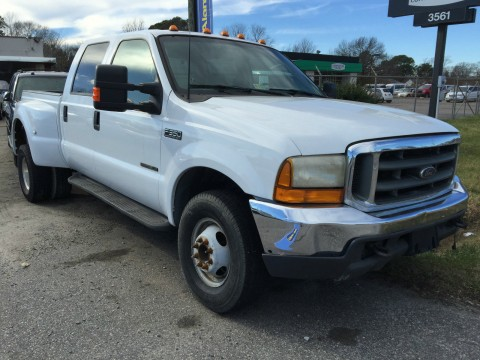 2000 FORD F350 Diesel 7.3L CREW CAB 4X4 Dually for sale
