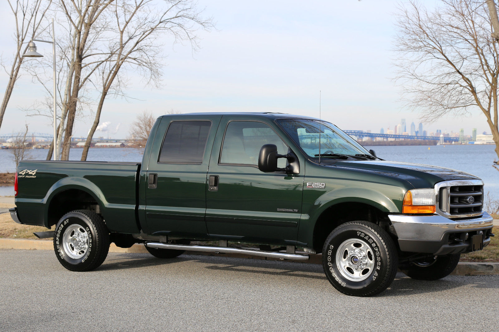 Ford f250 super duty for sale 2001 ford f 250 lariat 7 3 crew cab