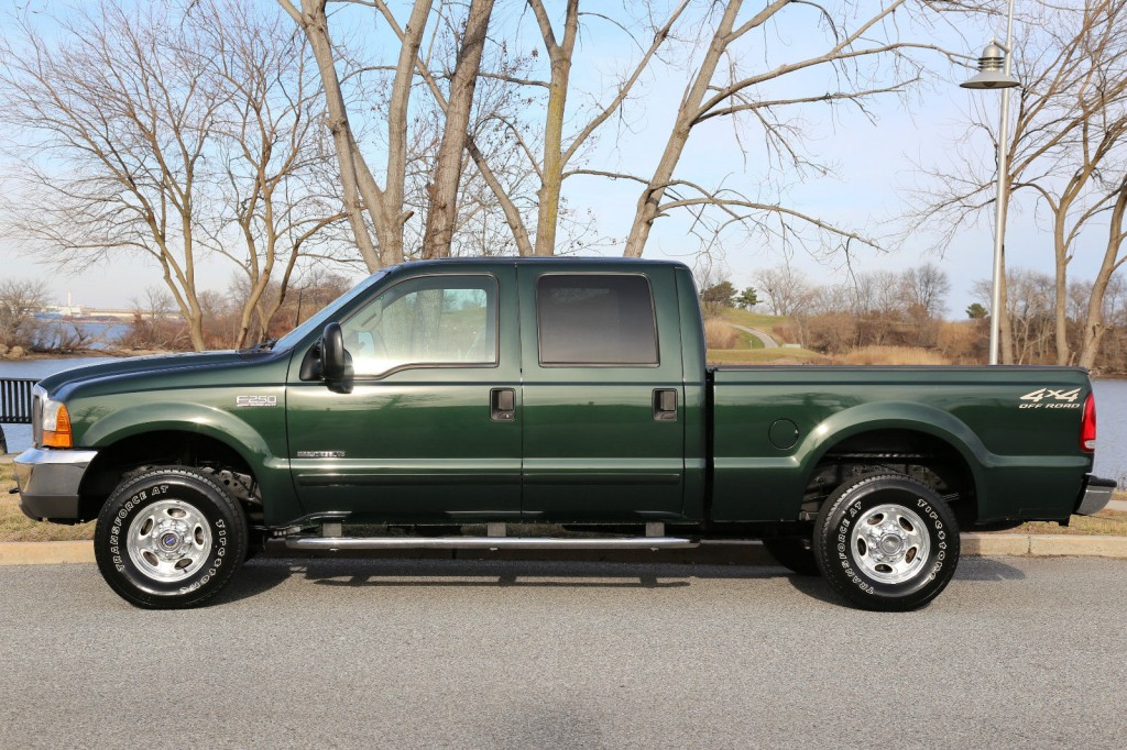 2001 ford f 250 lariat 7 3 crew cab diesel for sale. Black Bedroom Furniture Sets. Home Design Ideas
