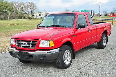 2001 Ford Ranger XLT XCab Extended Cab 5 Speed for sale