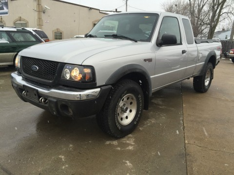 2002 Ford Ranger 4X4 FX4 Extended Cab for sale