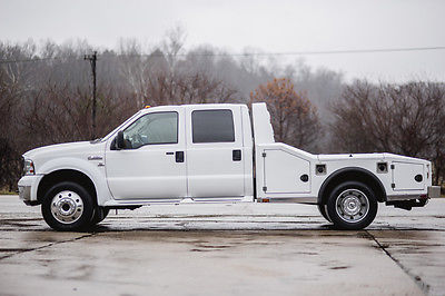 2006 Ford F450 4×4 5.9 Fummins Aluminum Hauler for sale