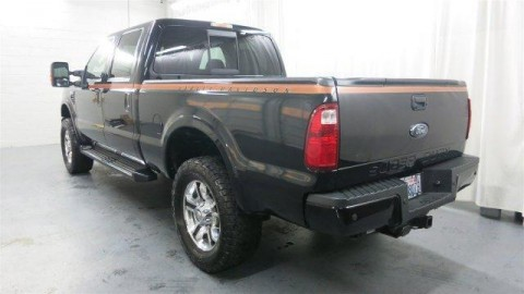 2008 Ford F 250 Super Duty Harley Davidson Edition Crew Cab Pickup 4 Door 6.4L for sale
