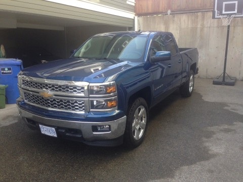2015 Chevrolet Silverado 1500 LT Extended Cab Pickup 4 Door 5.3L for sale