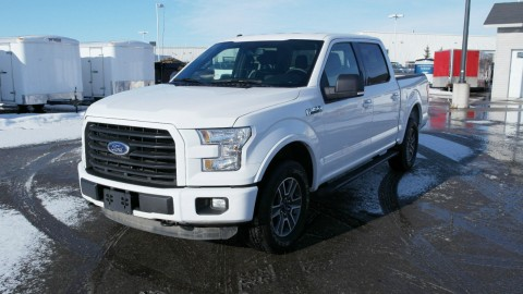 2015 Ford F 150 XLT Crew Cab Pickup 4 Door 5.0L for sale
