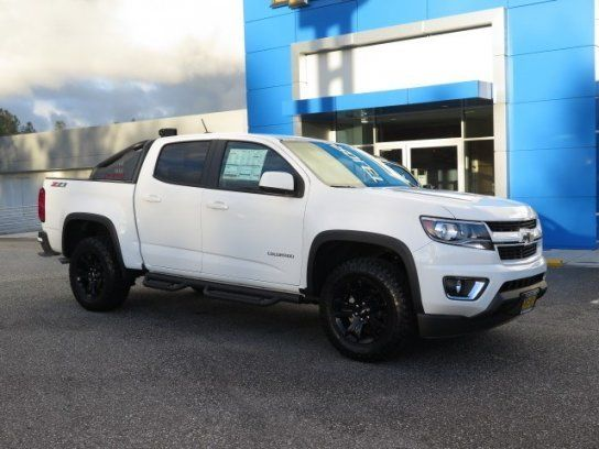 2016 Chevrolet Colorado Crew Cab 4X4 Duramax Diesel Trail Boss