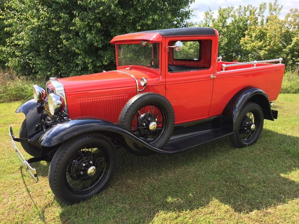 1931 ford model a deluxe pickup for sale. Black Bedroom Furniture Sets. Home Design Ideas
