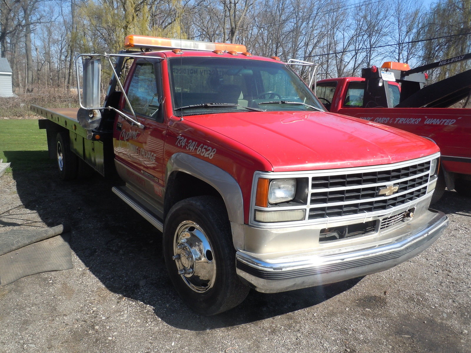 1993 Chevrolet 3500HD Tow Truck, Roll Back, Flat Bed ...