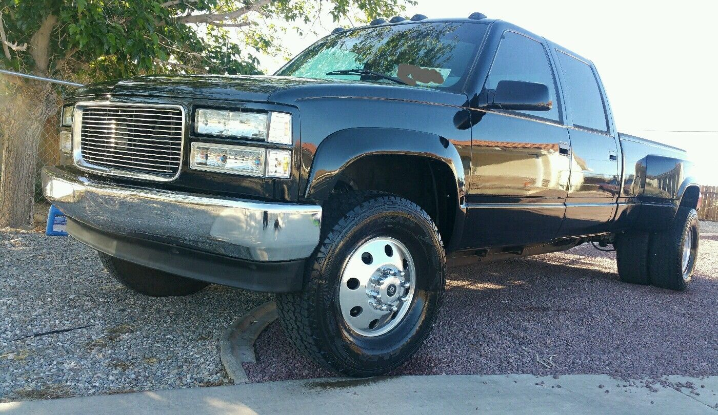 1994 chevrolet c3500 silverado crew cab pickup 4 door 7 4l for sale. Black Bedroom Furniture Sets. Home Design Ideas