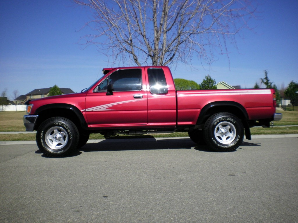 1994 toyota tacoma pickup deluxe extended cab 4 4 for sale. Black Bedroom Furniture Sets. Home Design Ideas