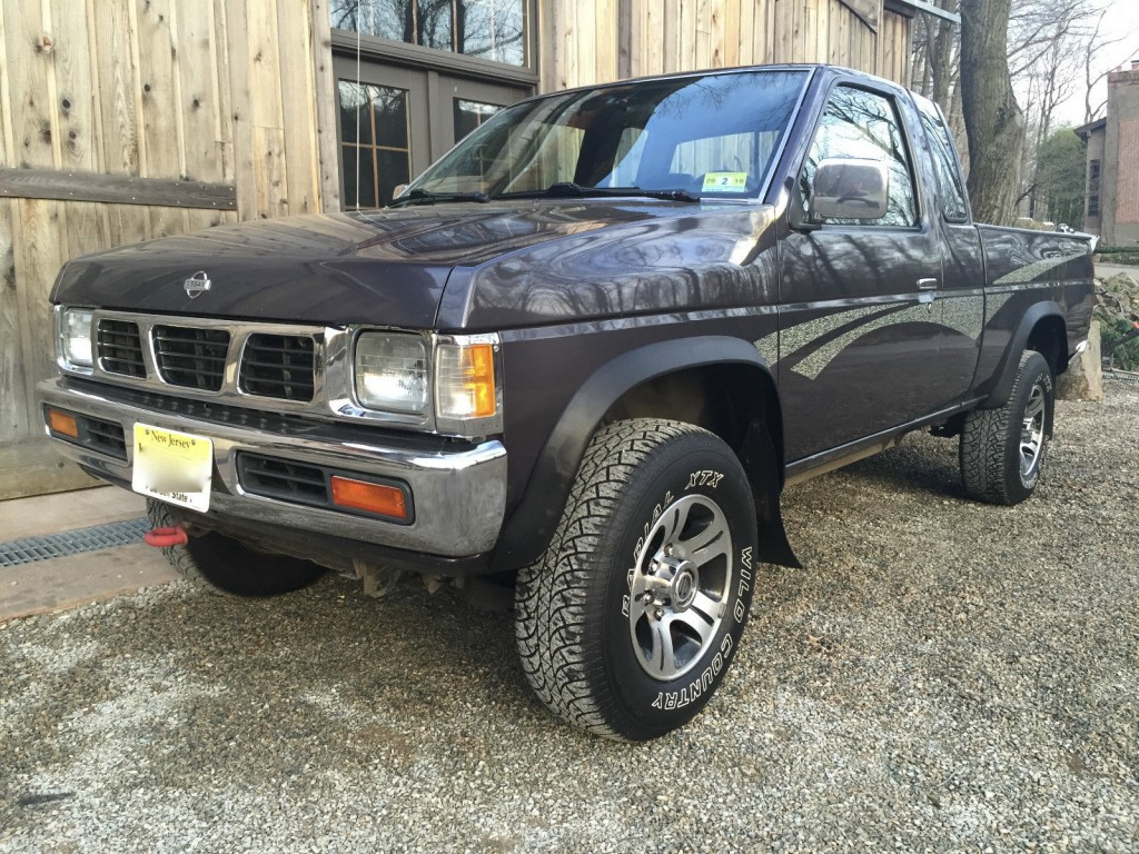 1995 Nissan Frontier Xe Hardbody Pickup 4x4 2 4l For Sale