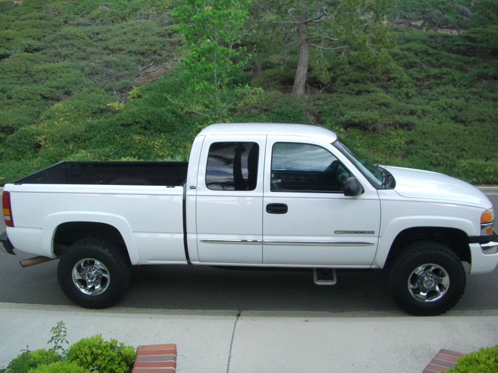 2003 gmc sierra 2500 hd slt extended cab pickup 4 door 8 1l for sale. Black Bedroom Furniture Sets. Home Design Ideas