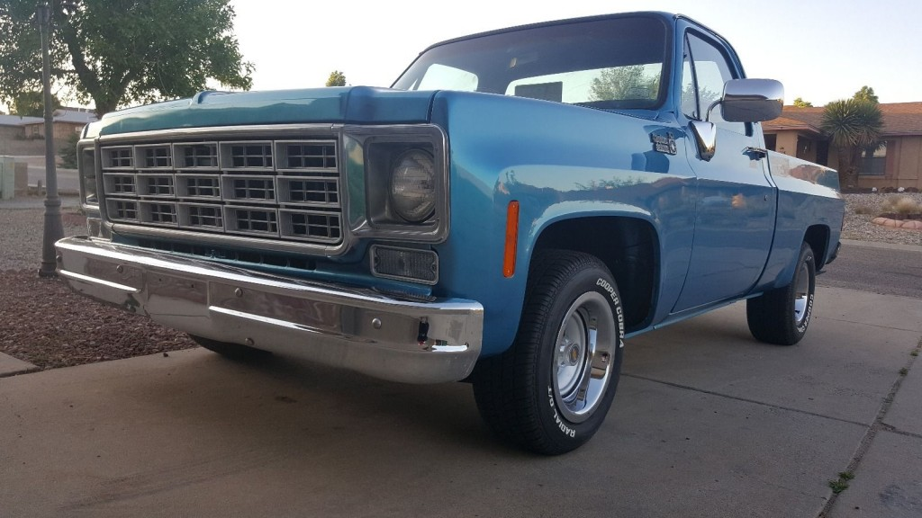 1978 Chevrolet C 10 Crew Cab Pickup For Sale