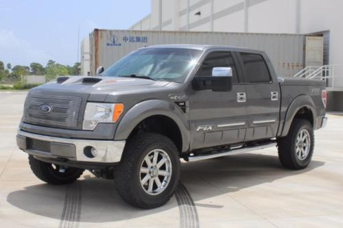 2012 Ford F150 Lariat Crew Cab 4wd Ftx Package For Sale