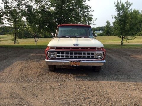 1965 Ford F-100 Custom Camper Special pickup truck for sale