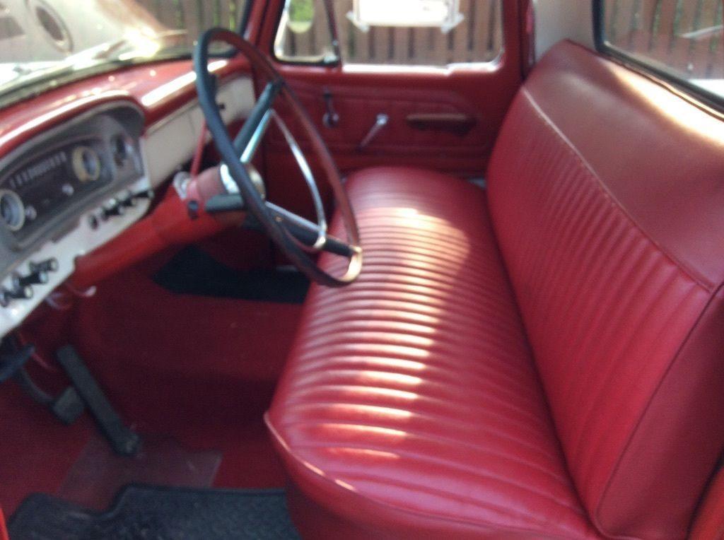 1965 Ford F-100 Custom Camper Special pickup truck