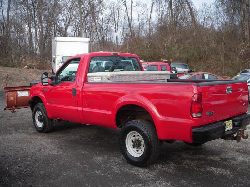 2001 ford f 250 xl standard cab pickup with plow for sale. Black Bedroom Furniture Sets. Home Design Ideas