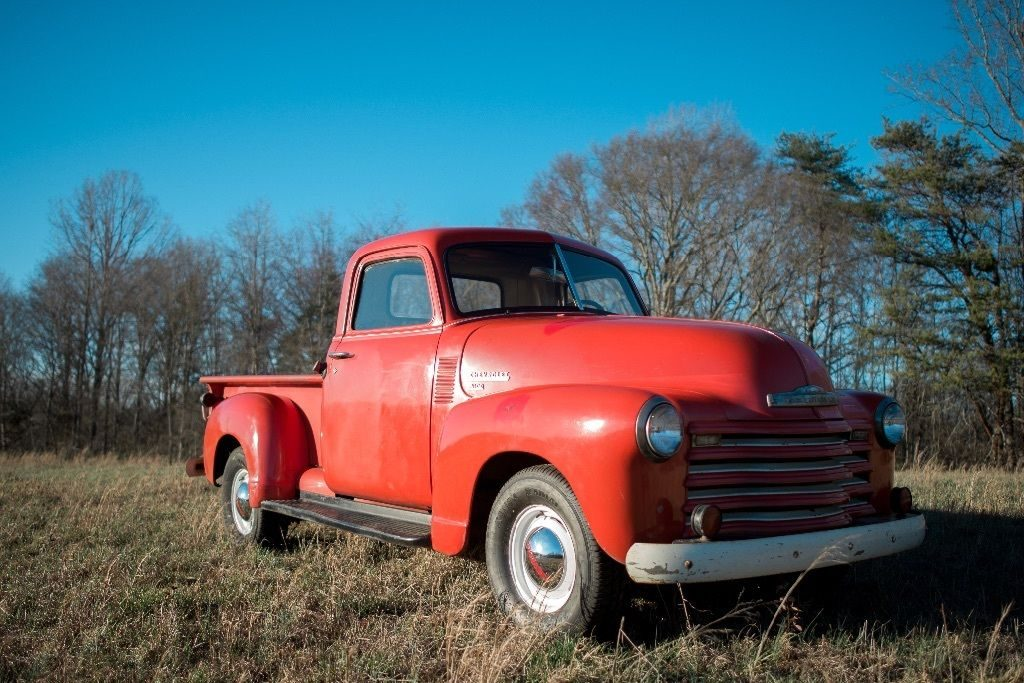 red 1950 chevy 3100 pickup truck for sale. Black Bedroom Furniture Sets. Home Design Ideas