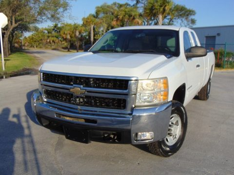 Accident free 2009 Chevrolet 2500 Silverado Extended Cab Pickup for sale