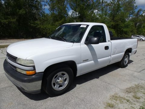 Clean work truck 2000 Chevrolet Silverado 1500 Pickup for sale