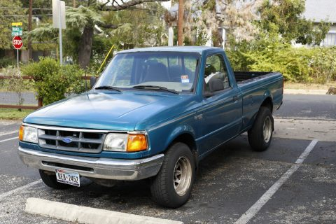 Functional 1993 Ford Ranger XLT Standard Cab Pickup for sale