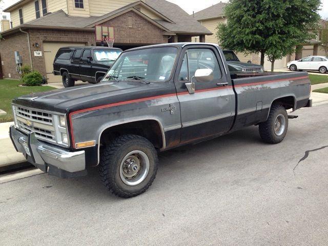 Rust free 1986 Chevrolet C/K 1500 Silverado Pickup for sale