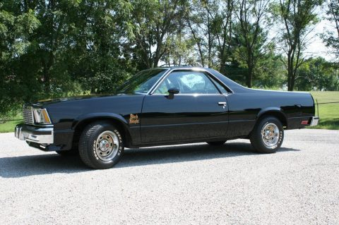 Black Knight Clone 1978 Chevrolet El Camino pickup for sale