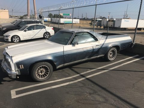 Needs restoration 1975 Chevrolet El Camino pickup for sale