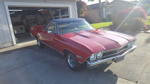 Rebuilt engine 1968 Chevrolet El Camino SS 396 pickup for sale