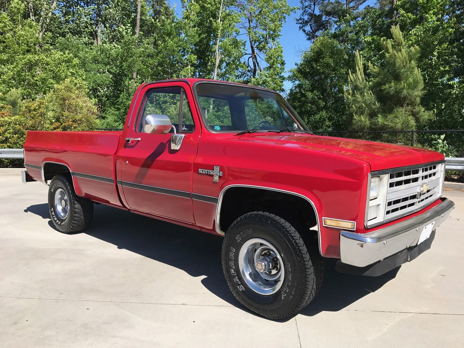 Rebuilt engine 1986 chevrolet c k pickup 1500 scottsdale for Reconditioned motors for sale