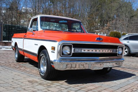 Rotisserie restoration 1970 Chevrolet C 10 pickup for sale