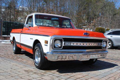 Rotisserie restoration 1970 Chevrolet C 10 pickup for sale