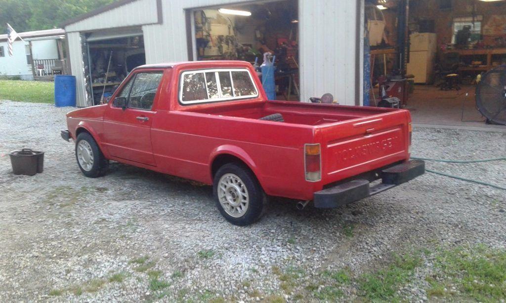Freshly Restored 1980 Volkswagen Rabbit Lx Pickup For Sale