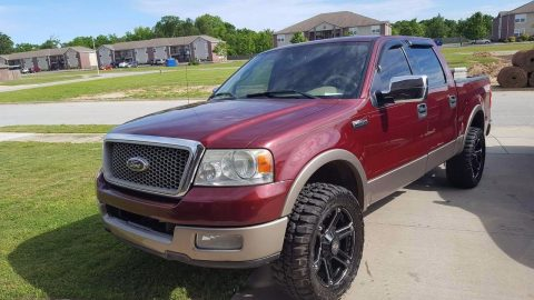 Leather seats 2004 Ford F 150 Lariat pickup for sale