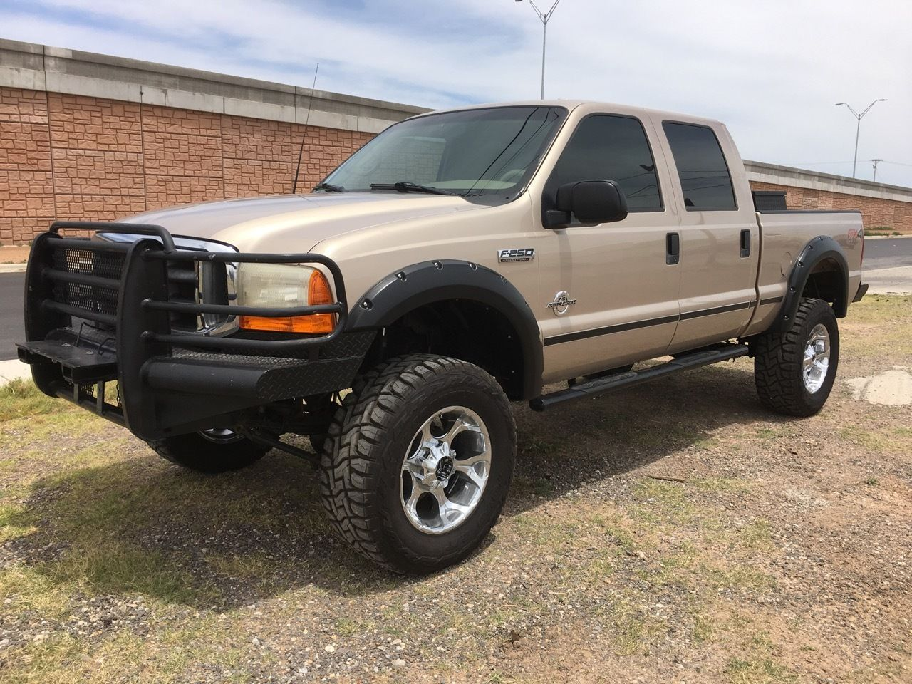loaded hauler 1999 ford f 250 crew cab super duty for sale. Black Bedroom Furniture Sets. Home Design Ideas