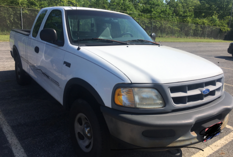 Low miles 1997 Ford F 150 pickup for sale