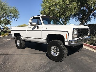 Recently serviced 1978 Chevrolet C/K Pickup 1500 Silverado pickup for sale