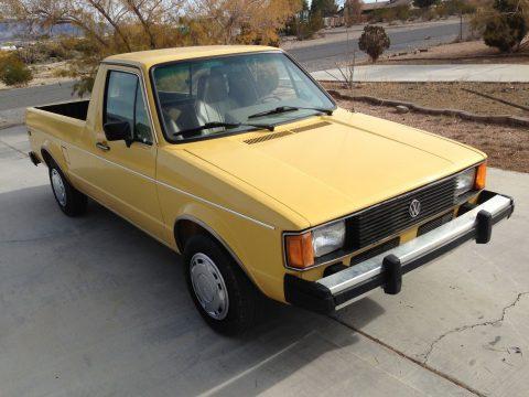 Totally restored 1981 Volkswagen Rabbit pickup for sale