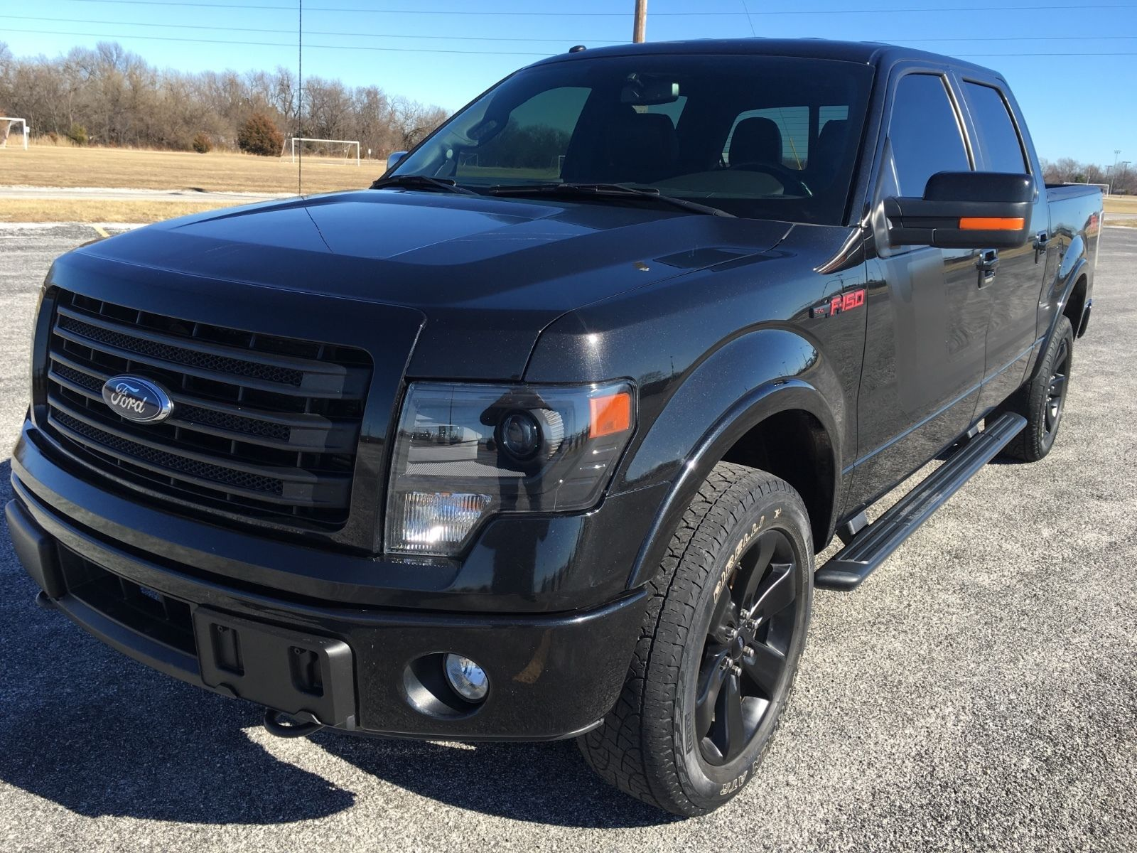 almost fully optioned 2014 ford f 150 fx4 pickup for sale. Black Bedroom Furniture Sets. Home Design Ideas