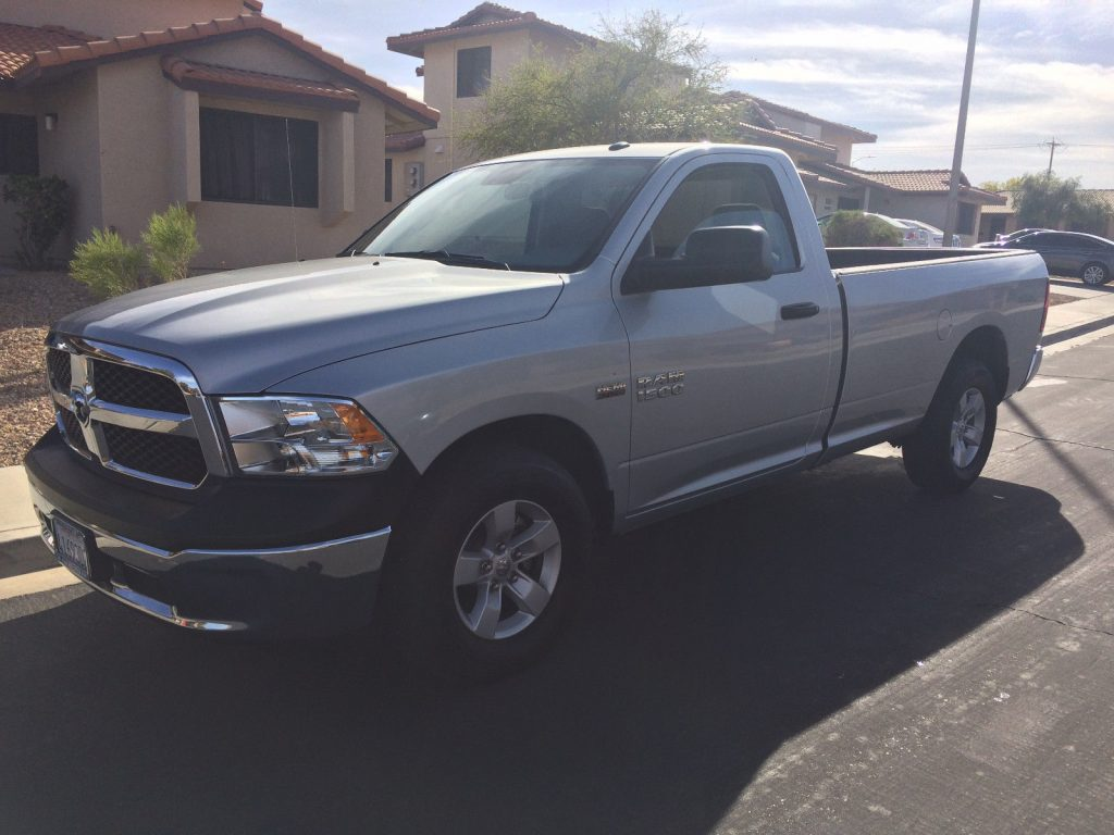 Almost new 2017 Ram 1500 pickup