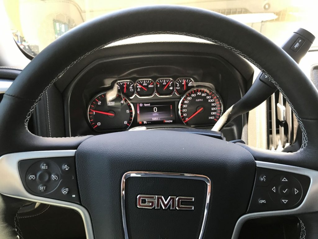 Every option available 2016 GMC Sierra 1500 SLT pickup