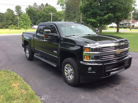 Garaged 2016 Chevrolet Silverado 3500 High Country pickup for sale
