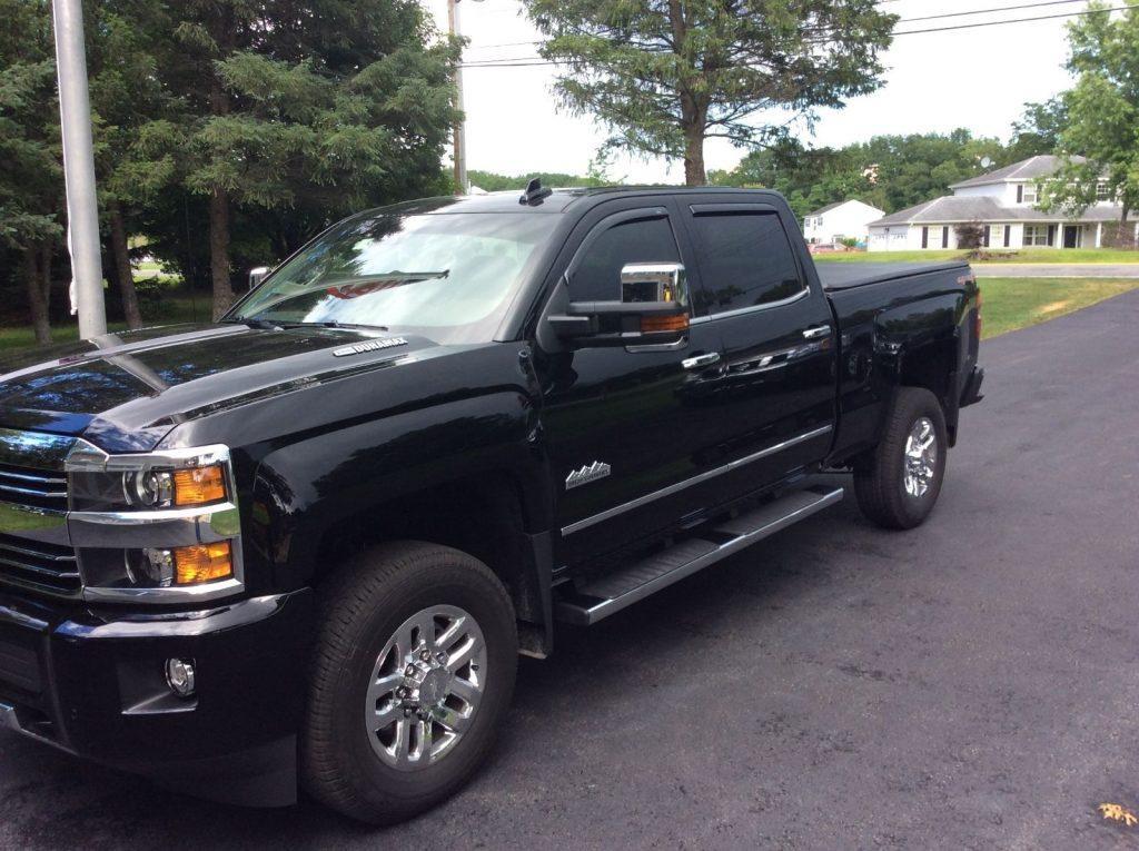 Garaged 2016 Chevrolet Silverado 3500 High Country pickup