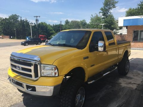 Great shape 2006 Ford F 250 Amarillo pickup for sale