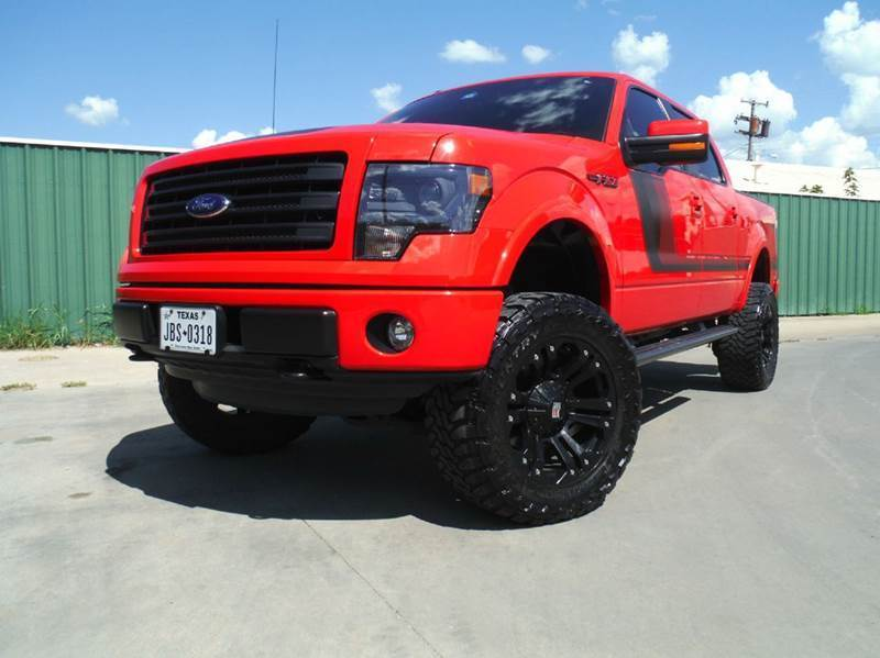 Heavy duty 2014 Ford F 150 FX4 4×4 4dr Supercrew pickup for sale