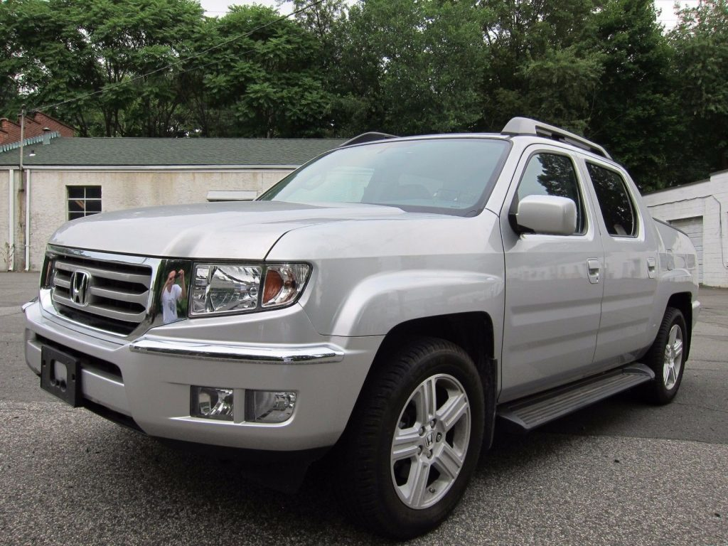loaded 2014 honda ridgeline rtl pickup for sale. Black Bedroom Furniture Sets. Home Design Ideas