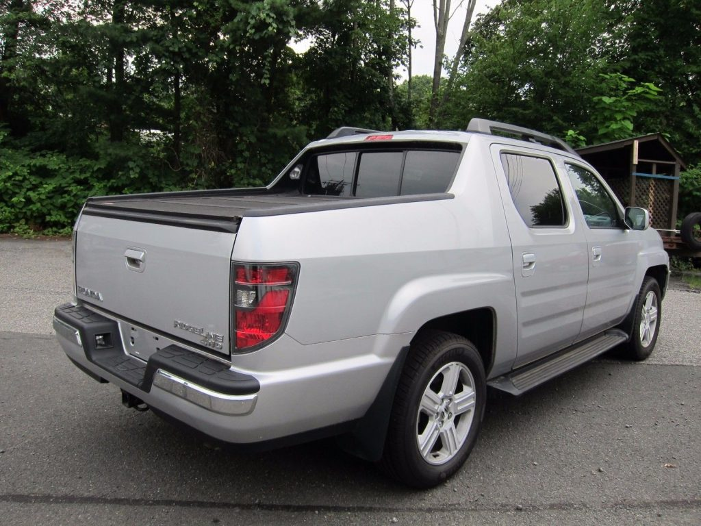 Loaded 2014 Honda Ridgeline Rtl Pickup For Sale